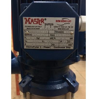 Máy bơm Nước Master  U5V500/10T